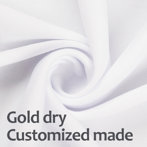 blank sublimation fabric gold dry for sublimation transfer
