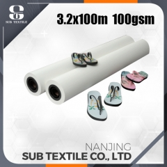 120gsm 3200mm High Speed Printing Sublimation Paper