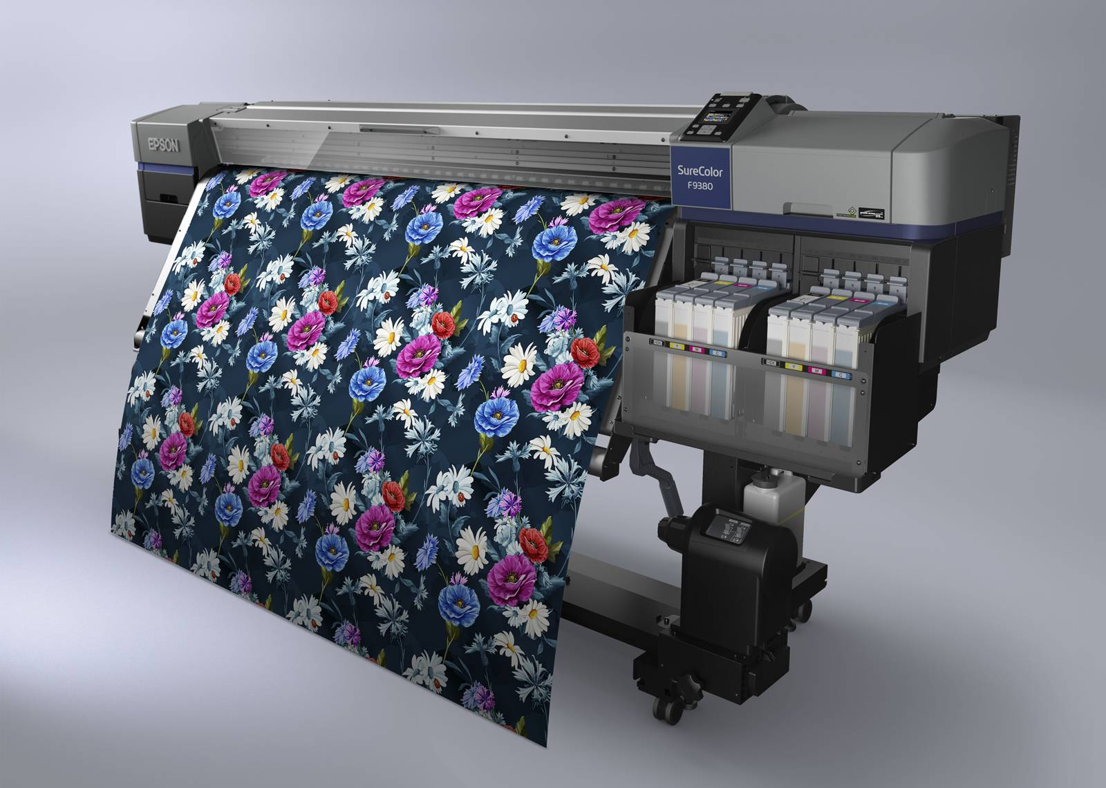 Precision fast, play color - Epson new SureColor F9380 beautiful debut